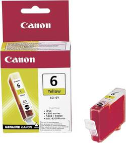 Náplň do tiskárny Canon BCI-6Y 4708A002, žlutá