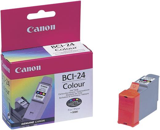 Canon Tinte BCI-24 Original Cyan, Magenta, Gelb