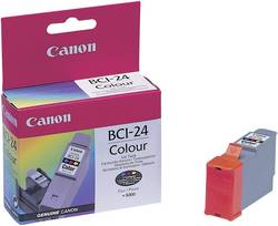 Cartridge Canon BCI-24, 6882A002, žlutá/cyanová/magenta