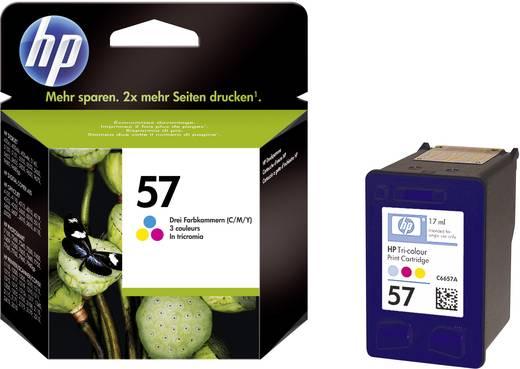 HP Tinte 57 Original Cyan, Magenta, Gelb C6657AE
