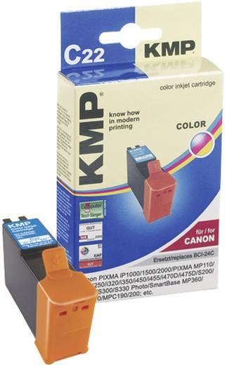 KMP Tinte ersetzt Canon BCI-24 Kompatibel Cyan, Magenta, Gelb C22 0944,0030