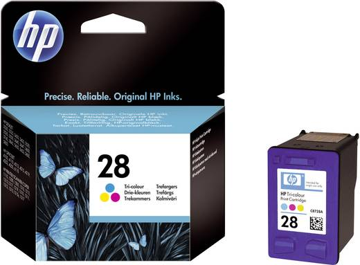 HP Tinte 28 Original Cyan, Magenta, Gelb C8728AE
