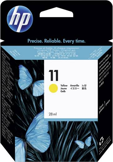 HP Tinte 11 Original Gelb C4838A