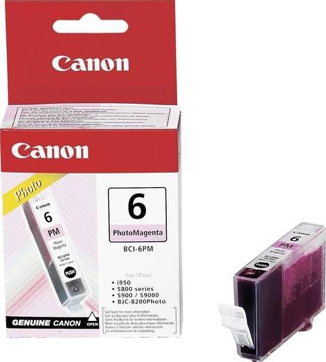 Canon Tinte BCI-6PM Original Photo Magenta 4710A002