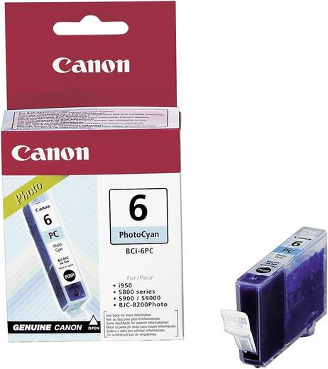 Canon Tinte BCI-6PC Original Photo Cyan 4709A002