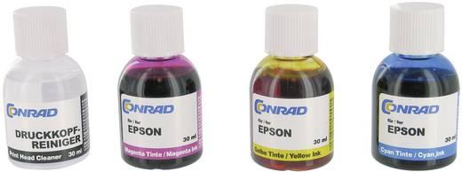 Tintenpatronen-Nachfüllset 987804 Passend für Geräte des Herstellers: Epson Cyan, Magenta, Gelb Tintenmenge gesamt: 90 ml
