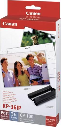 Fotodrucker Kassette (Tinte/Papier) Canon Selphy Fotopack KP-36IP 1 Set
