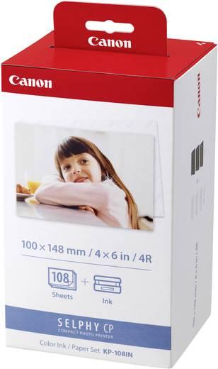 Fotodrucker Kassette (Tinte/Papier) Canon Selphy Fotopack KP-108IN 1 Set