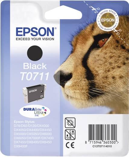 Epson Tinte T0711 Original Schwarz C13T07114011