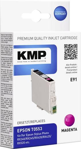 KMP Tinte ersetzt Epson T0553 Kompatibel Magenta E91 1012,0006