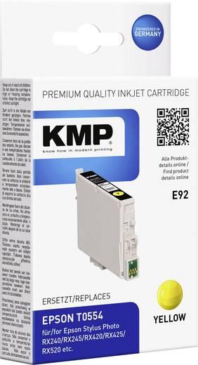 KMP Tinte ersetzt Epson T0554 Kompatibel Gelb E92 1012,0009