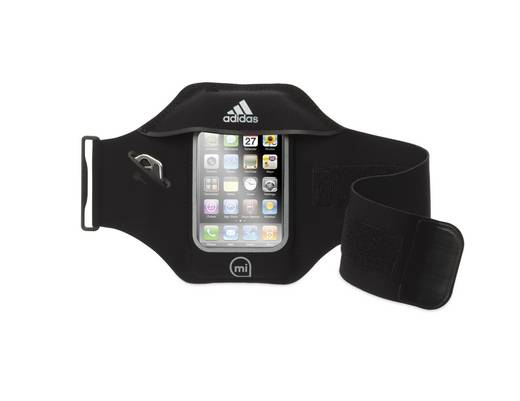 iPhone Armband Griffin miCoach Armband Black i , Schwarz