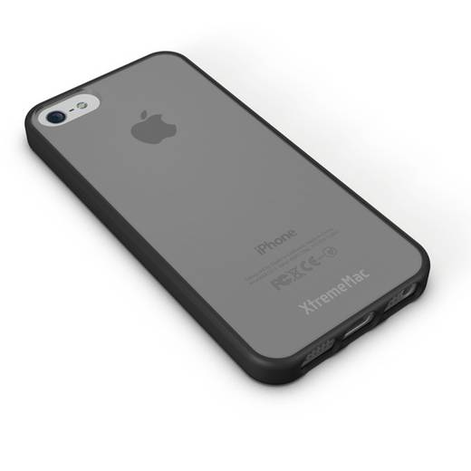 iPhone Backcover XtremeMAC HardCase Microshield Accent Passend für: Apple iPhone 5, Apple iPhone 5S, Apple iPhone SE, Lila
