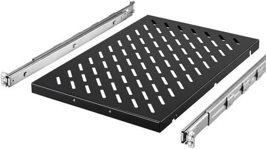 19 Zoll Netzwerkschrank-Geräteboden 1 HE Rittal 5501.685 variable Befestigungsschienen Geeignet für Schranktiefe: ab 1000 mm Schwarz