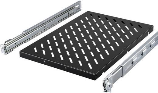 19 Zoll Netzwerkschrank-Geräteboden 1.5 HE Rittal 5501.715 variable Befestigungsschienen Geeignet für Schranktiefe: ab 600 mm Schwarz