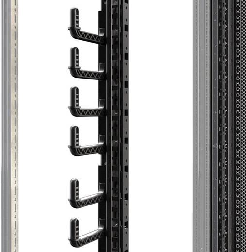 19 Zoll Netzwerkschrank-Kabelführung 6 HE Rittal 5502.115 Schwarz