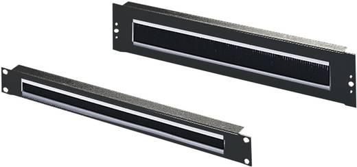 19 Zoll Netzwerkschrank-Kabelführung 1 HE Rittal 5502.255 Schwarz