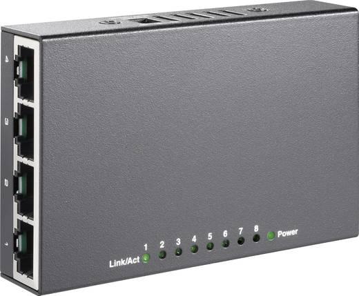 8 Port Mini Ethernet Switch mit USB-Stromversorgung
