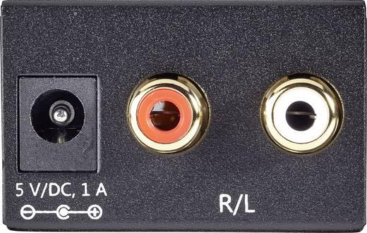 AV Konverter [Toslink, Cinch-Digital - Cinch] SpeaKa Professional SP-DAC-TKC