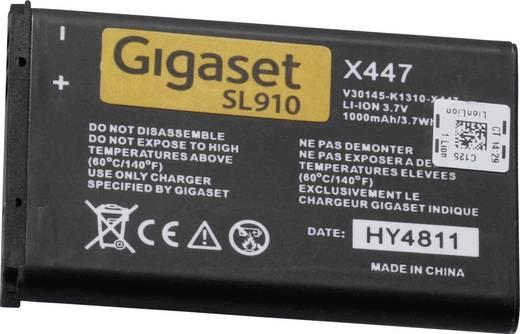 Schnurlostelefon Akku Gigaset SL910H - Ersatzakku Passend für Marke: Gigaset Li-Ion 3.7 V 1000 mAh