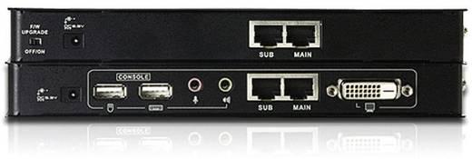 DVI, USB 2.0 Extender (Verlängerung) über Netzwerkkabel RJ45 ATEN CE600 60 m 1920 x 1200 Pixel