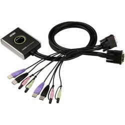 Prepínač KVM ATEN CS682-AT, 2 porty, DVI