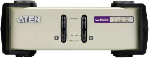 ATEN CS82U-AT 2 Port KVM-Umschalter VGA USB, PS/2 2048 x 1536 Pixel