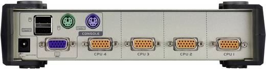 4 Port KVM-Umschalter VGA USB, PS/2 2048 x 1536 Pixel CS84U-AT ATEN
