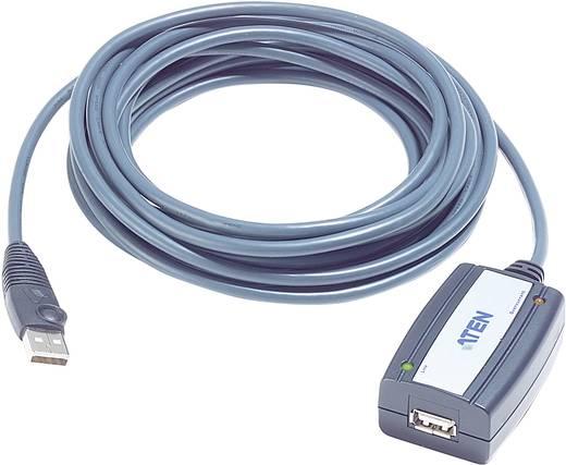 ATEN USB 2.0 Verlängerungskabel [1x USB 2.0 Stecker A - 1x USB 2.0 Buchse A] 5 m Schwarz