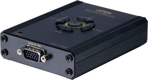 VGA / DVI Konverter [1x VGA-Stecker - 1x DVI-Buchse 24+1pol.] 0 m Schwarz ATEN