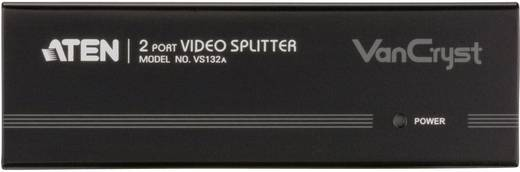 ATEN VS132A-AT-G 2 Port VGA-Splitter mit eingebautem Repeater 2048 x 1536 Pixel Schwarz