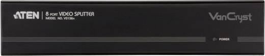8 Port VGA-Splitter ATEN VS138A-AT-G mit eingebautem Repeater 2048 x 1536 Pixel Schwarz
