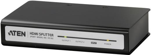 2 Port HDMI-Splitter ATEN VS182A 3840 x 2160 Pixel Schwarz