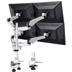 """Stolový držiak monitoru SpeaKa Professional SP-3957076, 25,4 cm (10"""") - 68,6 cm (27""""), čierna, strieborná"""