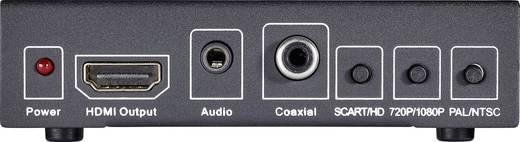 AV Konverter [SCART - HDMI, Klinke, Cinch-Digital] 1920 x 1080 Pixel SpeaKa Professional SP-HD/SC-01