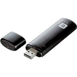 USB 2.0 Wi-Fi adaptér D-Link DWA-182, 1.2 Mbit/s