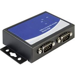 USB / sériový adaptér USB 2.0 Delock 87586 čierna