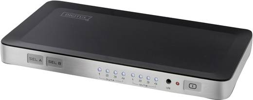 4 Port HDMI-Matrix-Switch Digitus DS-48300 mit Fernbedienung 1920 x 1080 Pixel