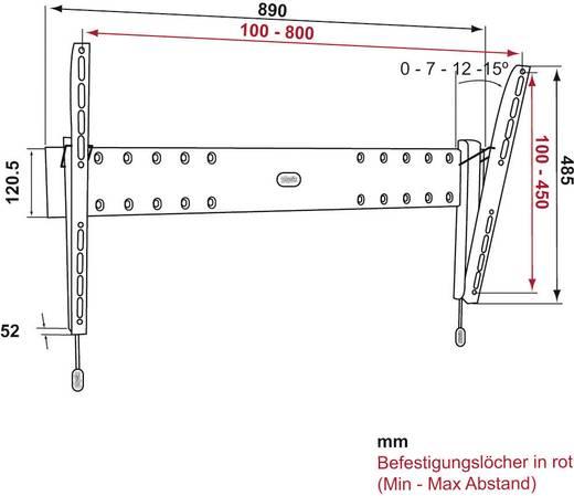 """TV-Wandhalterung 81,3 cm (32"""") - 127,0 cm (50"""") Neigbar Vogel´s PHW200L"""