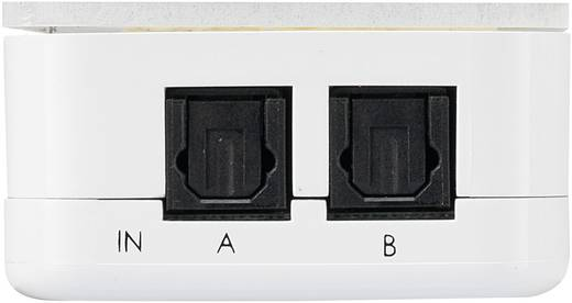 2 Port Toslink-Switch SpeaKa Professional Weiß