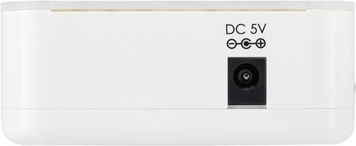 4 Port Toslink-Switch mit Fernbedienung SpeaKa Professional Weiß