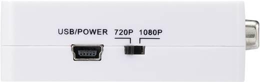 AV Konverter [VGA, Klinke - HDMI] 1920 x 1080 Pixel SpeaKa Professional SP-VK/HD mit Upscaler