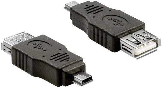 Delock USB 2.0 mini Stecker an USB 2.0-A Buchse OTG Adapter