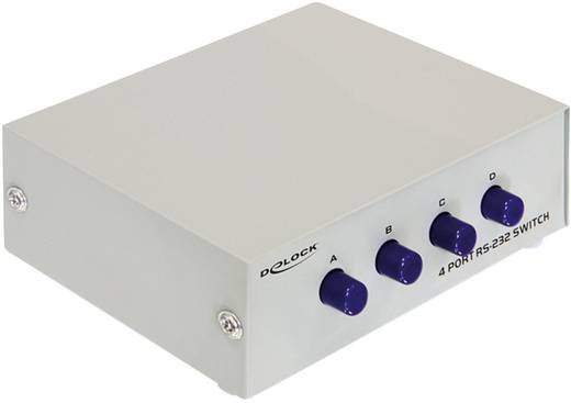 4 Port Seriell-Switch Delock