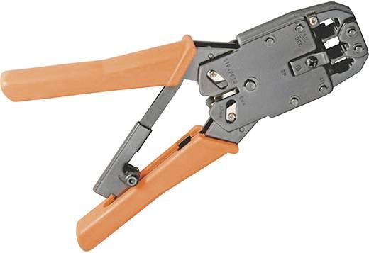 Crimpzange Modularstecker (Westernstecker) RJ10, RJ11, RJ12, RJ45 FixPoint WZ krimp 04 M LCD RJ10/RJ11/RJ12/RJ45 772