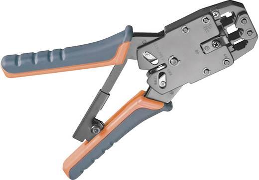 Crimpzange Modularstecker (Westernstecker) RJ10, RJ11, RJ12, RJ45 FixPoint WZ krimp 04 RJ10/RJ11/RJ12/RJ45 50284