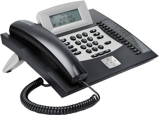 Systemtelefon, ISDN Auerswald COMfortel 1600 schwarz Headsetanschluss, Freisprechen, Touchscreen Beleuchtetes Display Sc