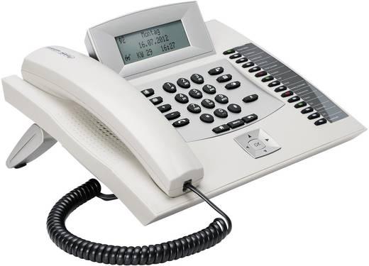 Systemtelefon, ISDN Auerswald COMfortel 1600 weiß Headsetanschluss, Freisprechen, Touchscreen Beleuchtetes Display Weiß,