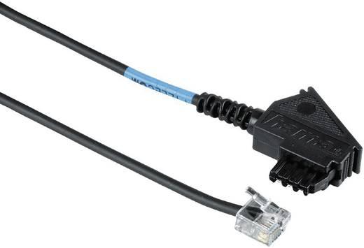 Hama DSL Anschlusskabel [1x TAE-F-Stecker - 1x RJ11-Stecker 6p2c] 0.50 m Schwarz