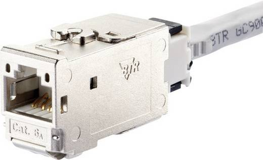 RJ45-Einbaumodul E-Dat CAT 6a Metz Connect 130B11-E
